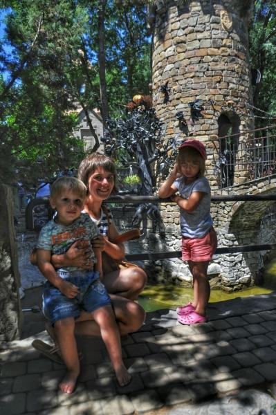 С черепашками в Старом парке
