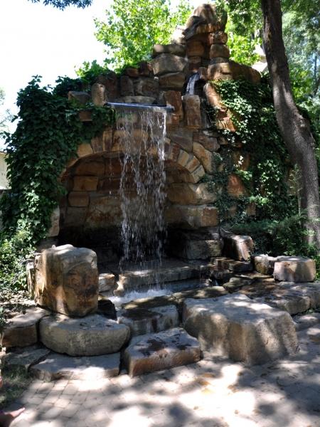Водопад В Старом парке