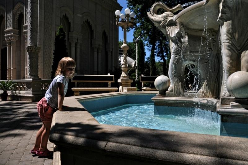 Размышления у фонтана в Старом парке