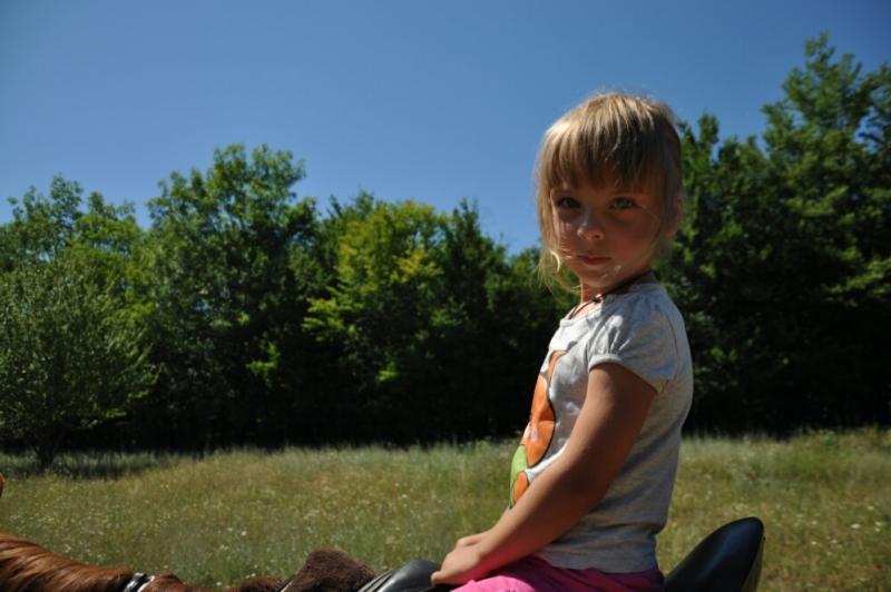Я собственной персоной во время конной ппогулки в Адербиевке