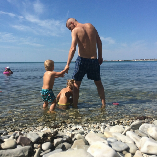 Заходим первый раз в Чёрное море
