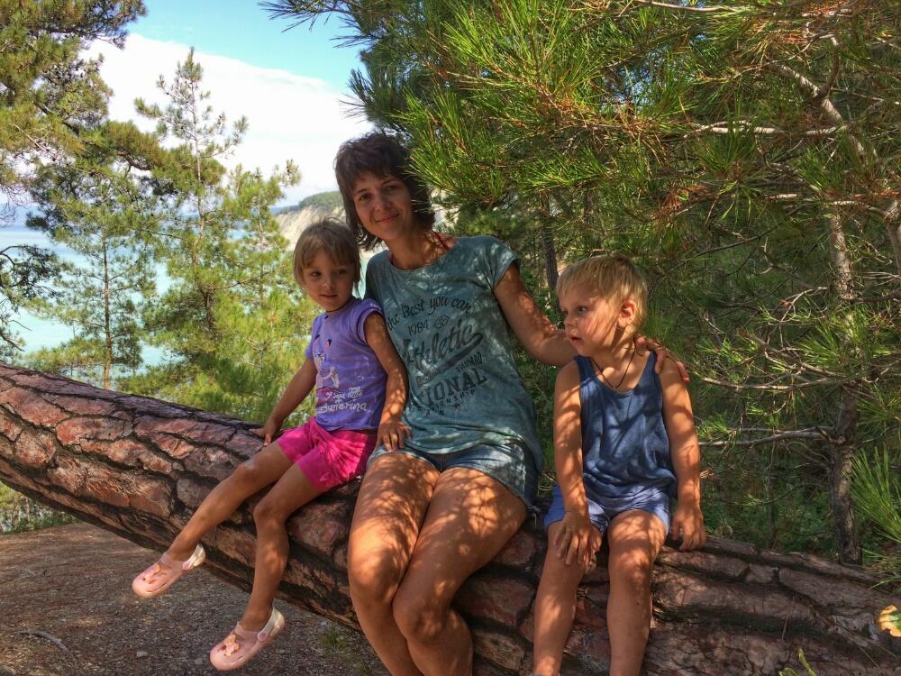 Короткий отдых во время спуска в Голубую бездну