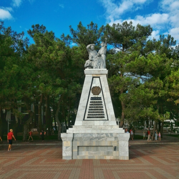 Монумент борцам павшим за власть Советов