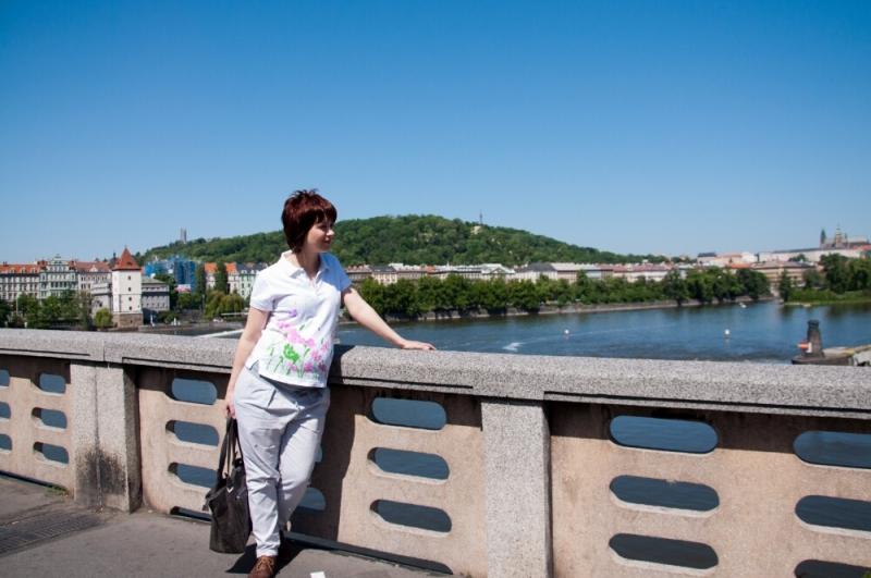 Моя первая фотография в Праге