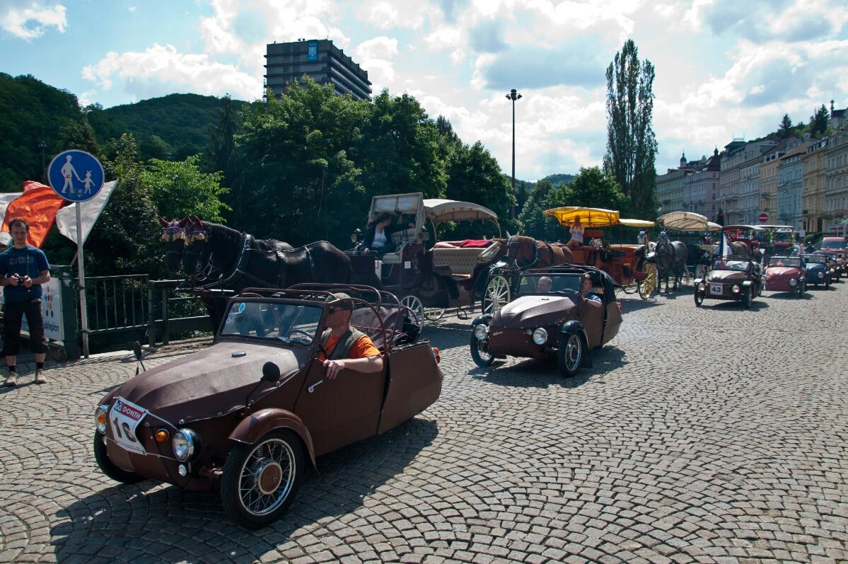 Машинки в Карловых Варах