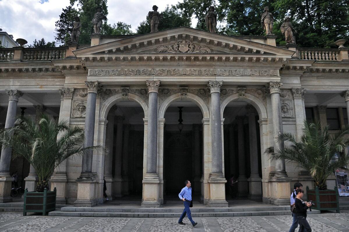 Млынская колоннада в Карловых Варах