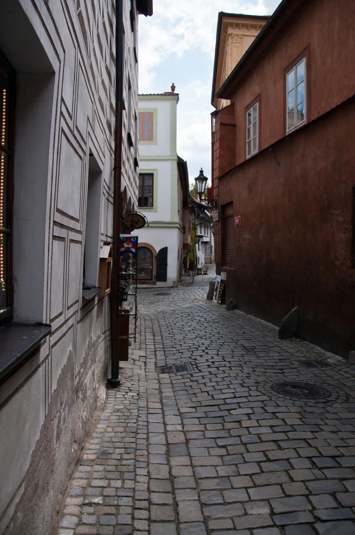 Улочка в Крумлове