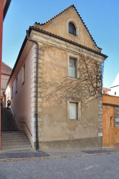 Фасады пражских домов