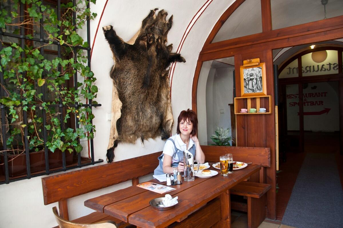 Restaurace u Hroznu