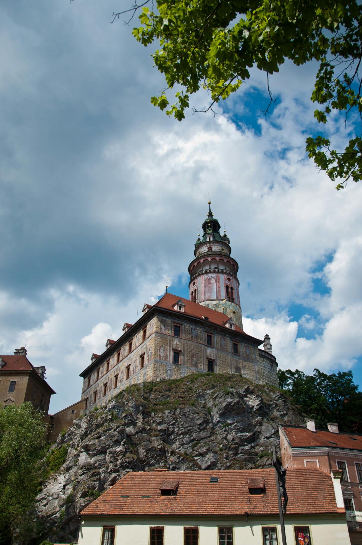 Замок в Чески Крумлове