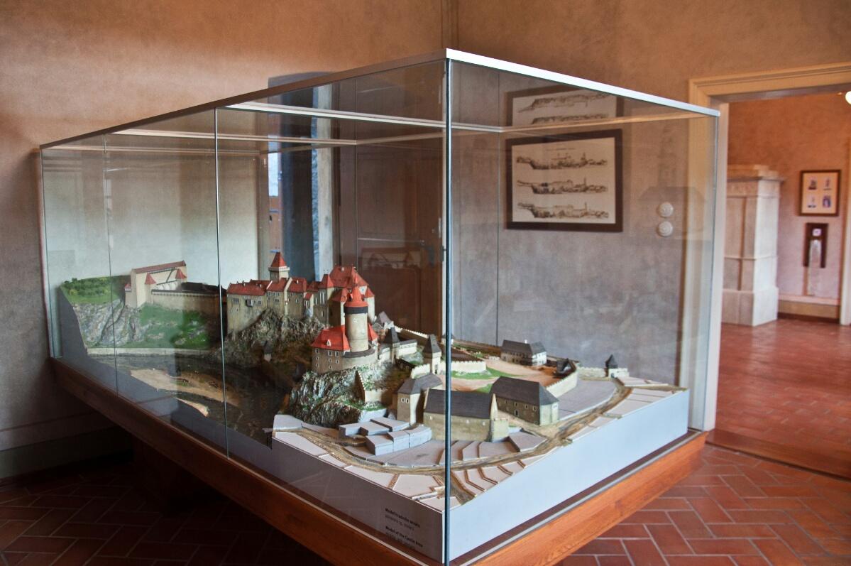 Экспозиция Крумловского замка