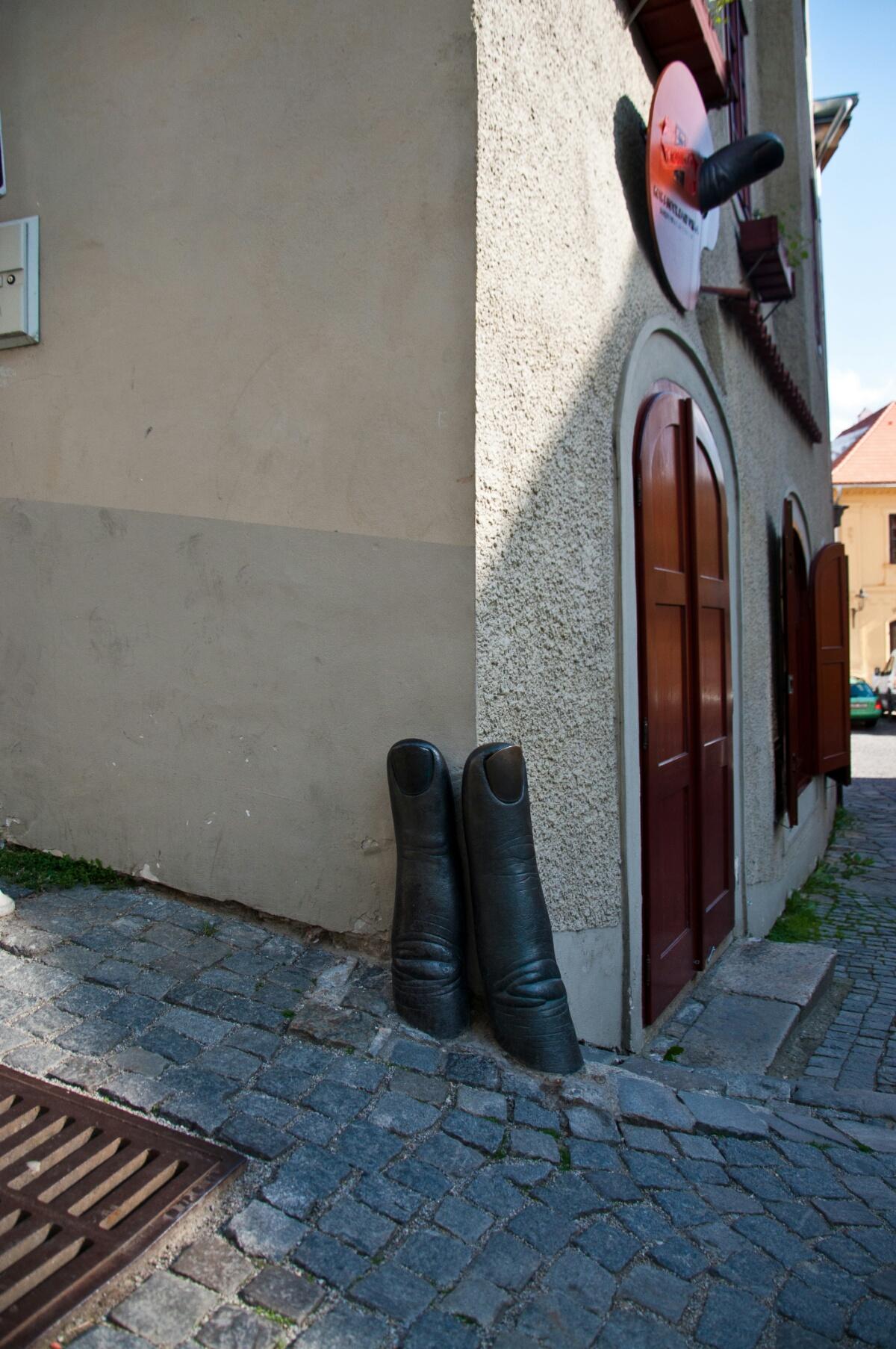 Магазин канцтоваров в Чески Крумлове