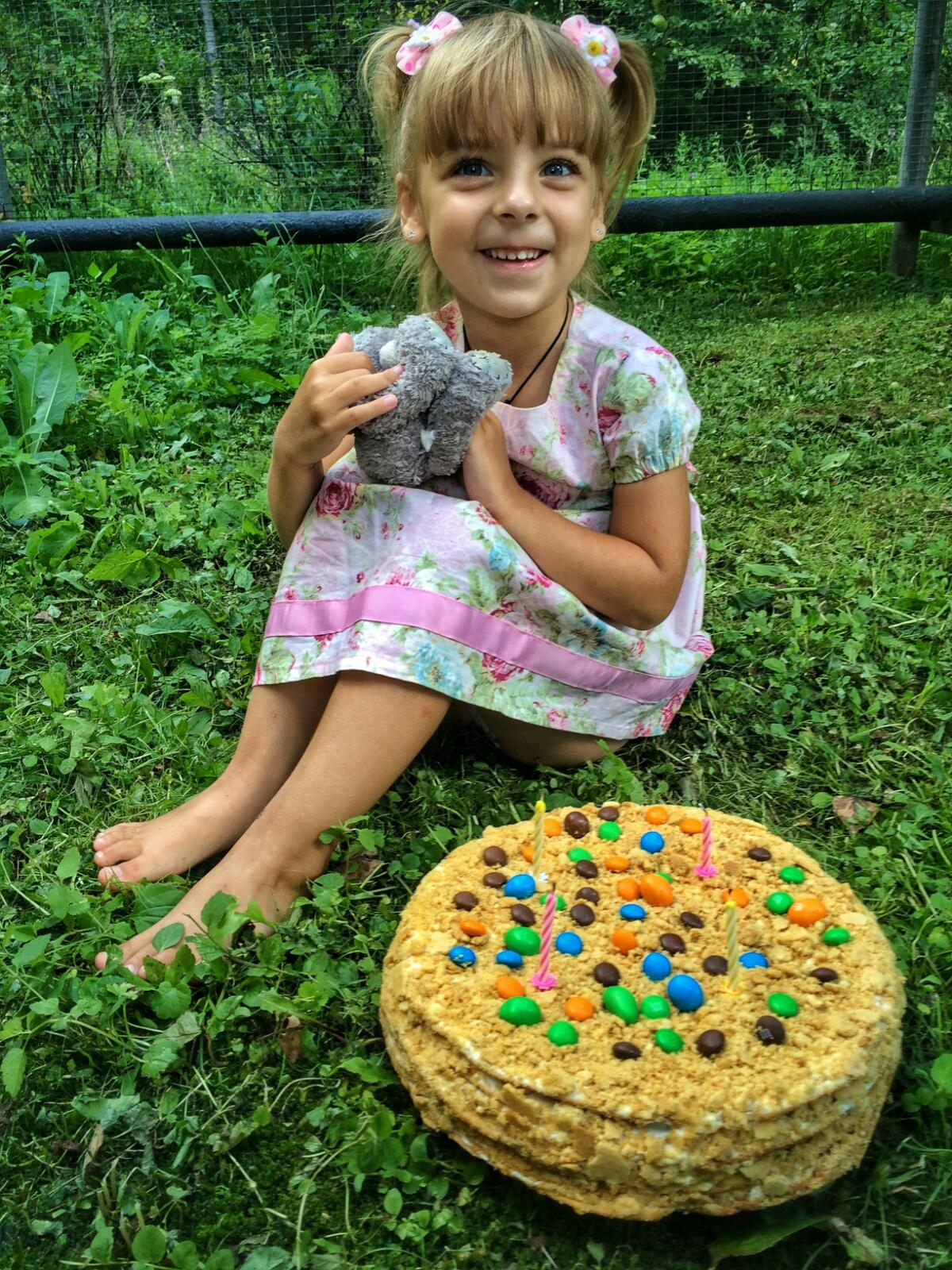 Фотосессия с тортом а мой День Рождения