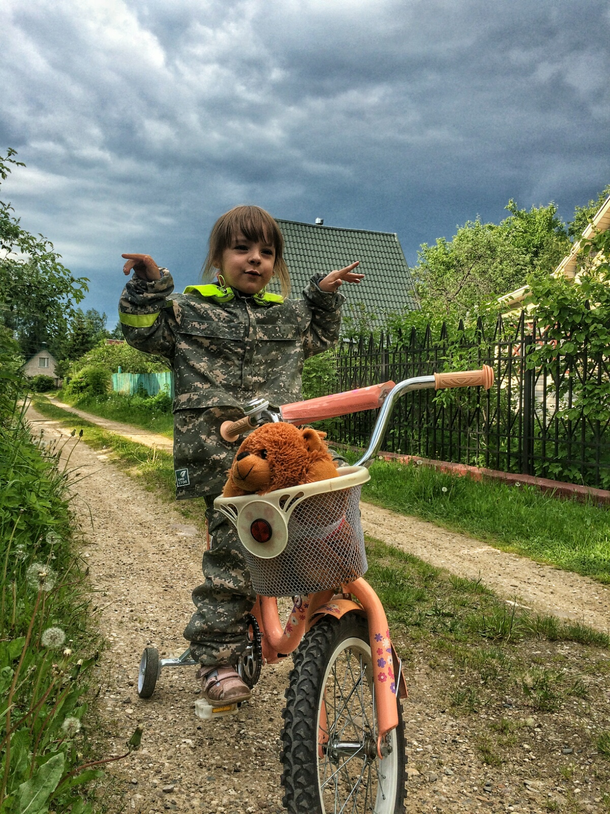 В свободном велополёте