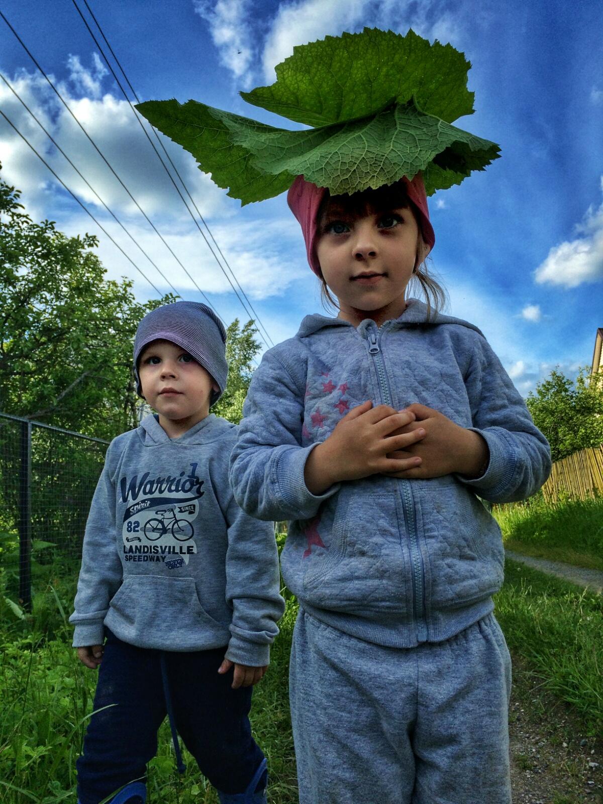 Лопушковая банда терроризирующая деревенскую оуругу