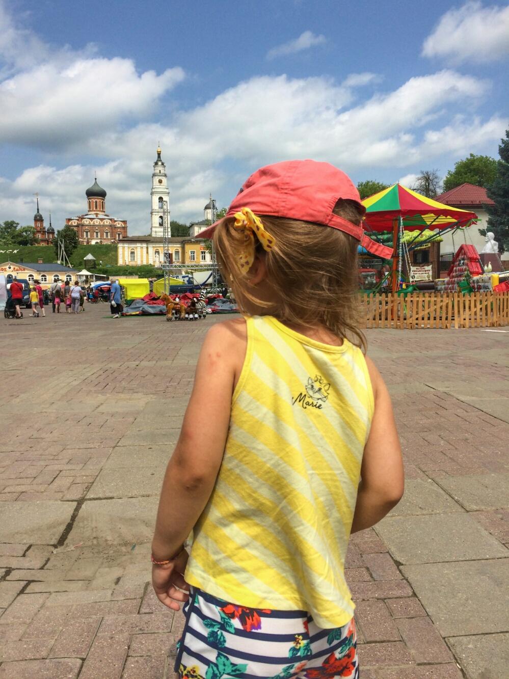 Центральная площадь в Волоколамске
