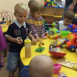 Первый раз в детский сад