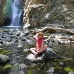 Водопад Millomeri и деревня Какопетрия