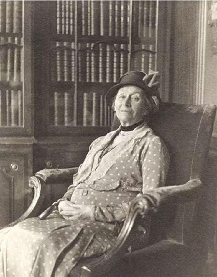 Алиса Харгривс (Лидделл) за два года до смерти, 1932 год
