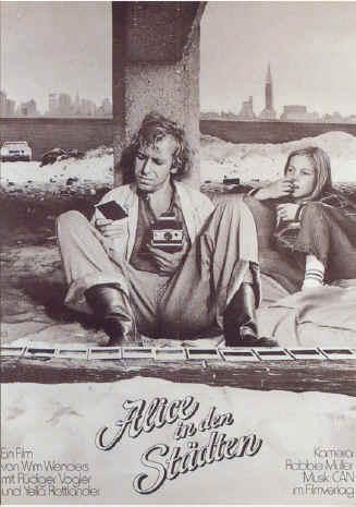 Постер к фильму Вима Вендерса «Алиса в городах»