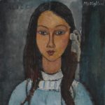 Картина Модильяни «Алиса»