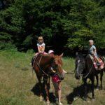 Пляж «Голубая бухта». Катание на лошадках в Адербиевке. Скала Парус.