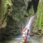 Голубая бездна и Гебиусские водопады.