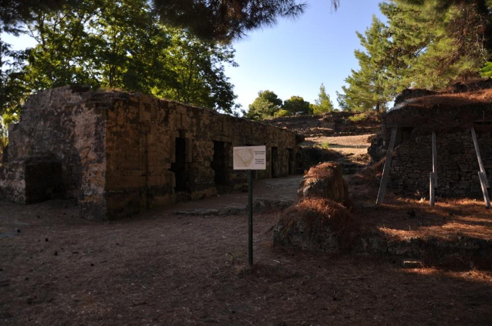 Тюрьма в крепости Бохали