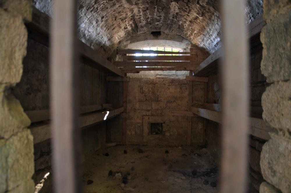 Камера для преступников в крепости Бохали