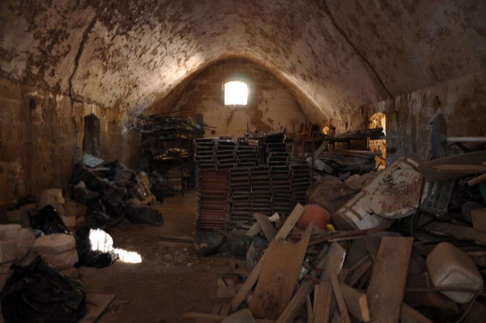 Помещение оружейного склада в крепости Бохали