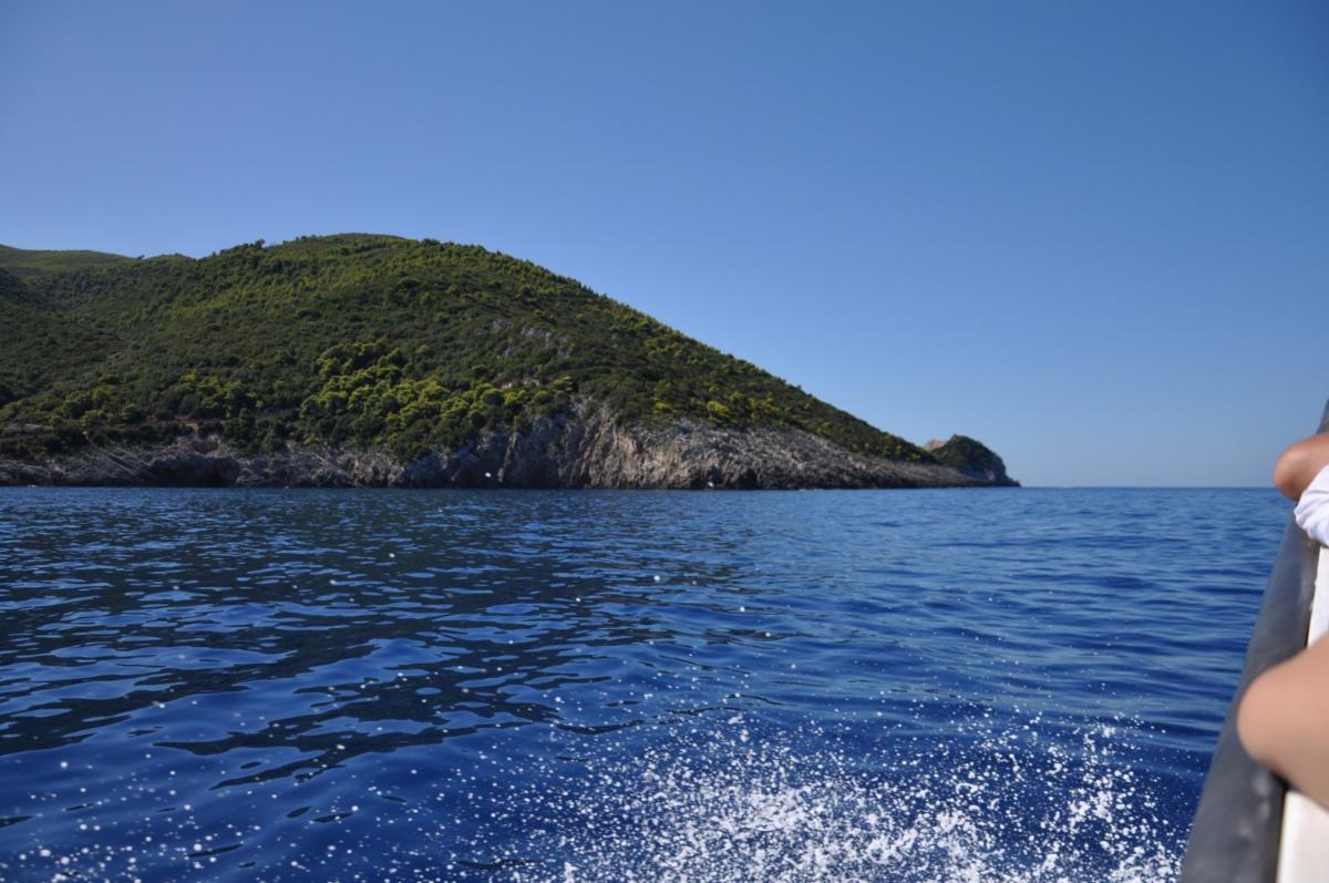 Береговая линия острова Закинф