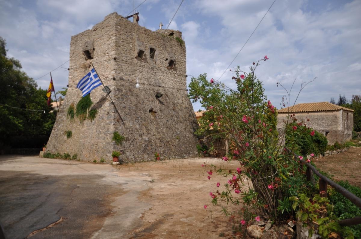 Башня монастыря Анафонитрия