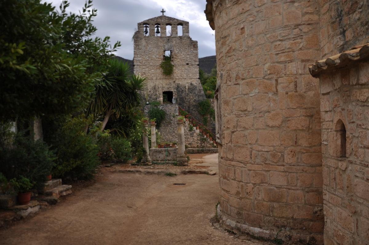 В монастыре Анафонитрия