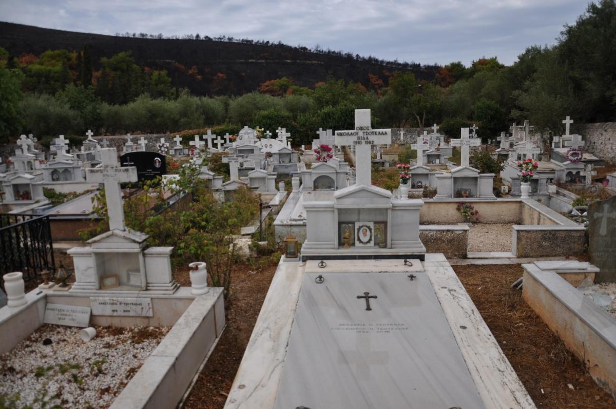 Кладбище при монастыре Анафонитрия