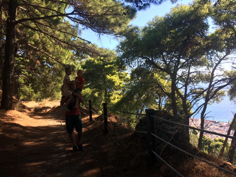 Гуляем по крепости Бохали