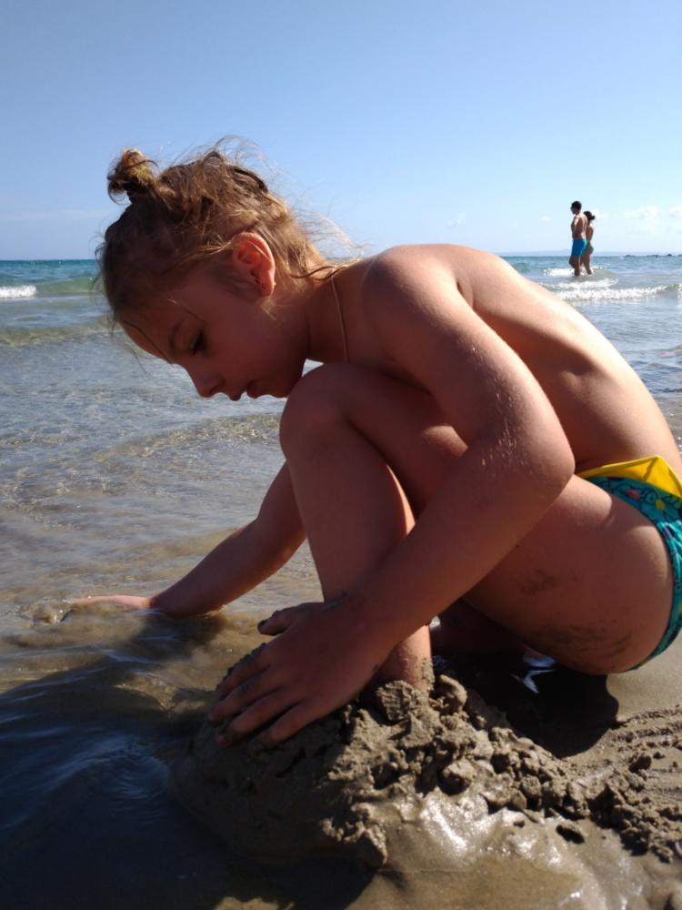 На пляже в Циливи