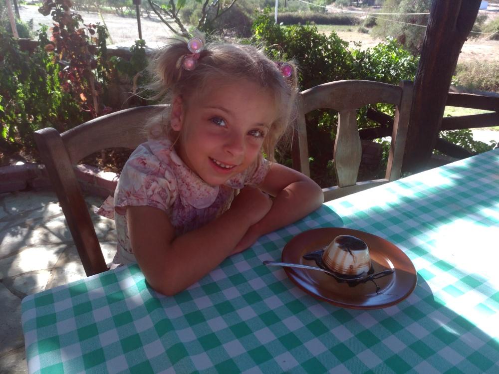 Десерт в таверне Skarcofoli