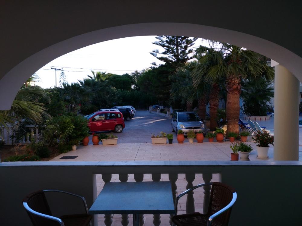 Вид из номера отеля Villa Basil