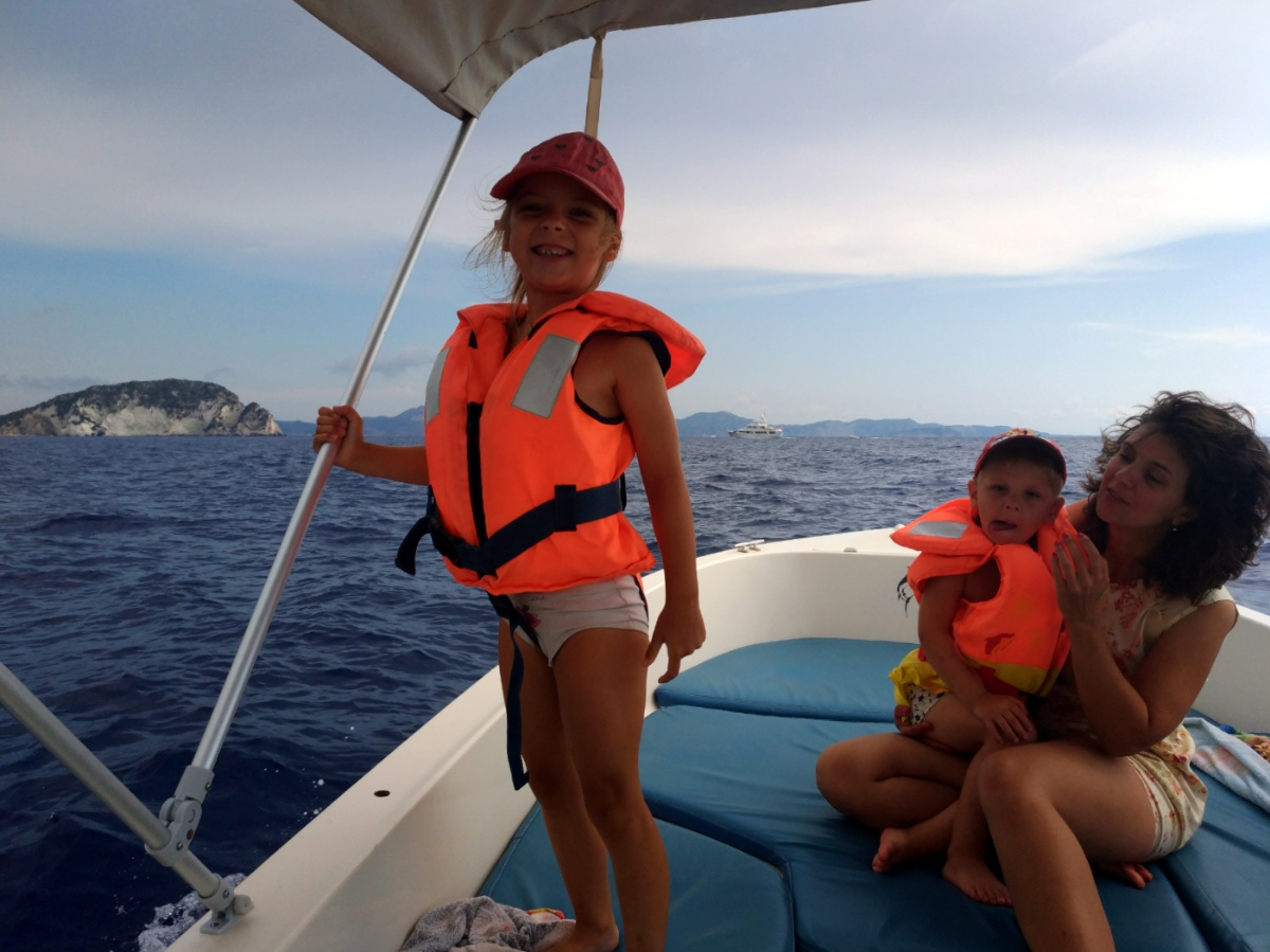 Держим курс на остров Марафонити