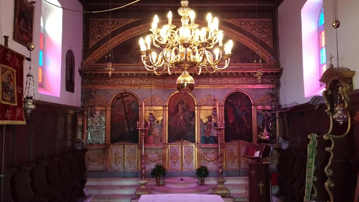 Церковь монастыря Святого Георгия Кремнона
