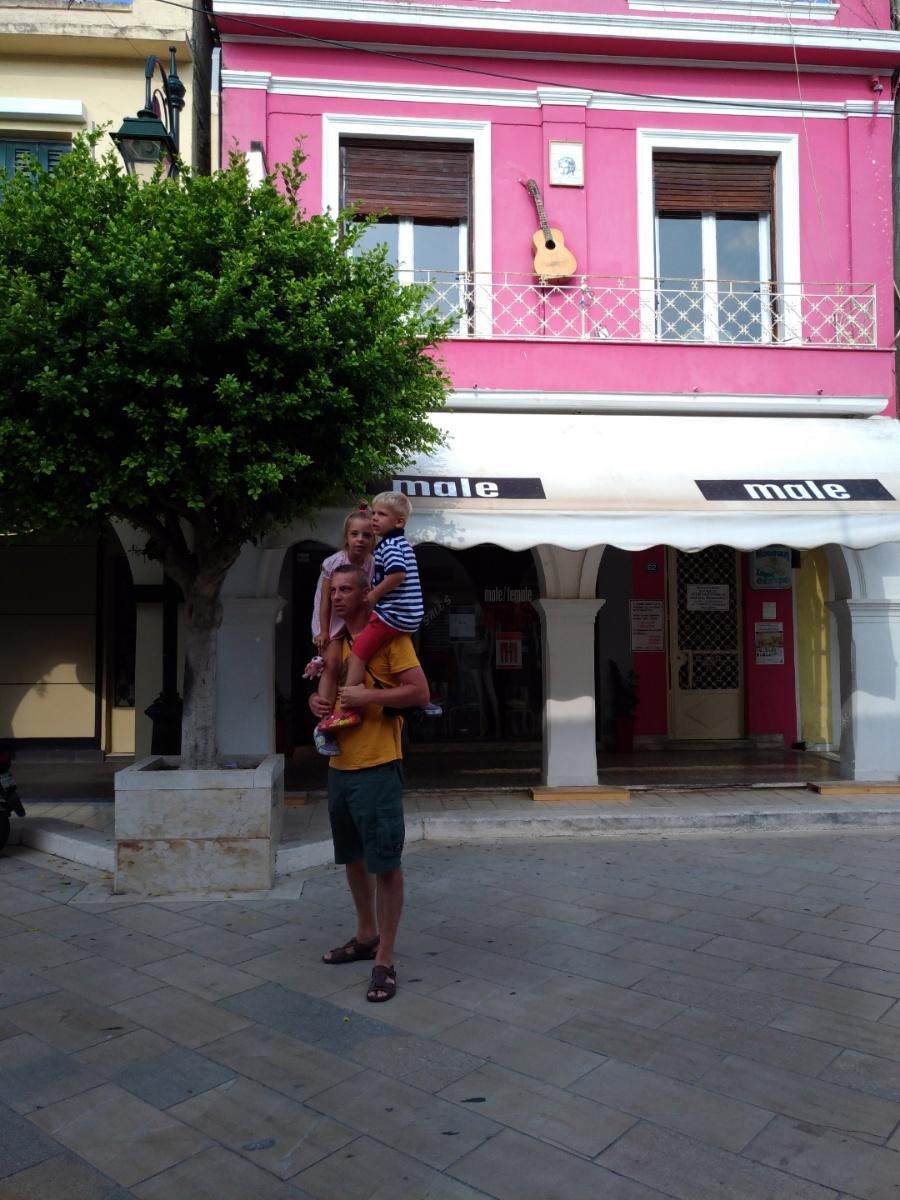 Гуляем по улочкам Закинтоса