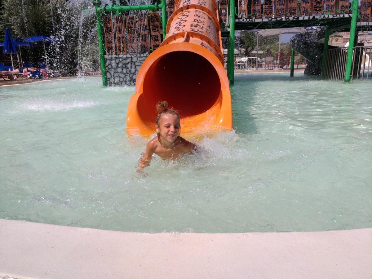 Катаюсь с гонок в аквапарке Tsilivi Water Park