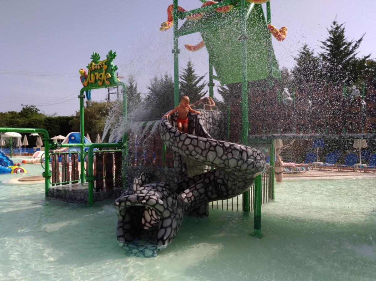 В аквапарке Tsilivi Water Park
